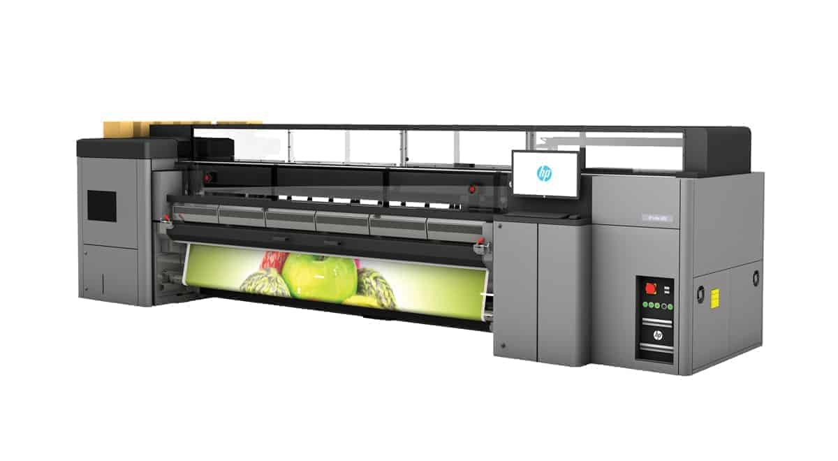 HP L3000a digital baski latex ic mekan dis mekan baski - Makina Parkurumuz