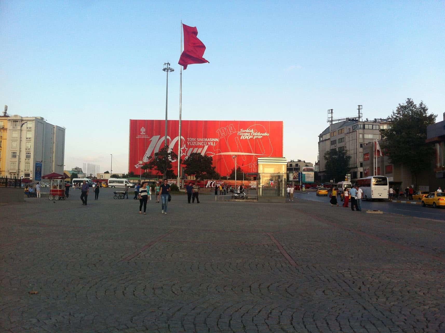 istanbul taksim ataturk kultur merkezi bina giydirme13 - İstanbul Taksim AKM Binası Giydirme