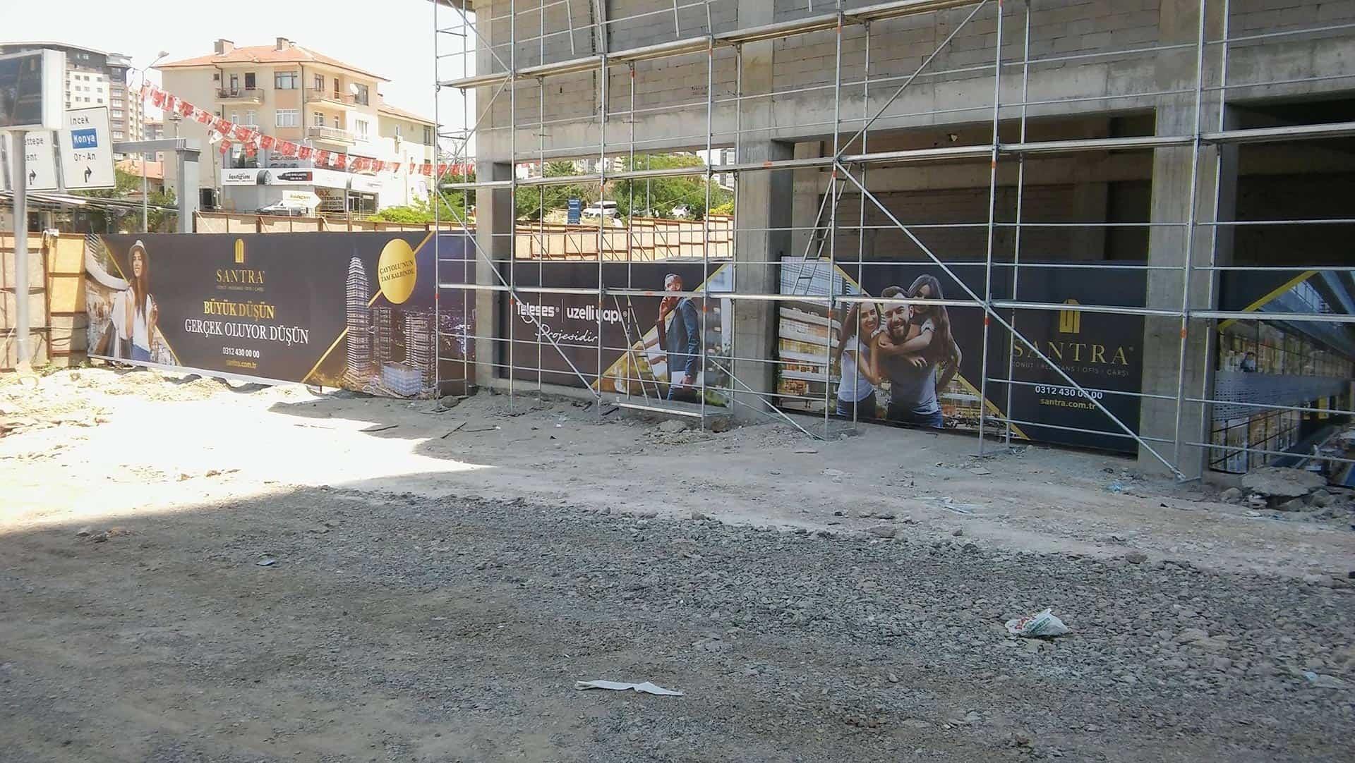 santra konut rezidans ofis insaat reklam duvar baskilari10 - Santra Konut Rezidans İnşaat Duvar Reklam Baskıları