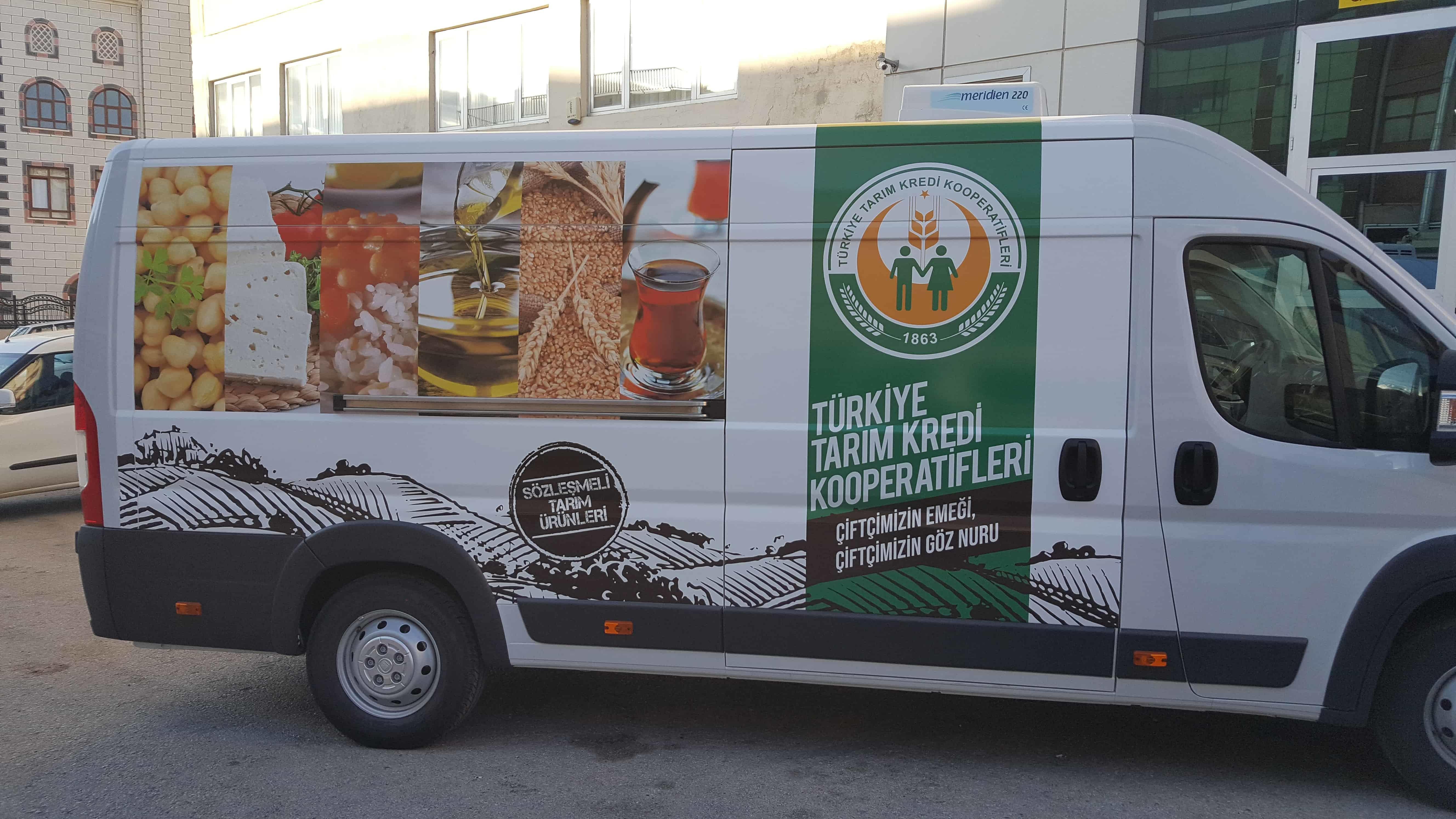 turkiye tarim kredi kooperatifleri arac kaplama3 - Araç Kaplama